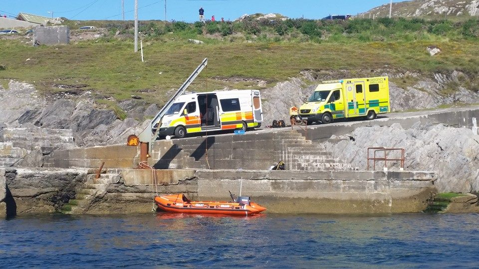 Castletownbere Coast Guard and HSE Ambulance